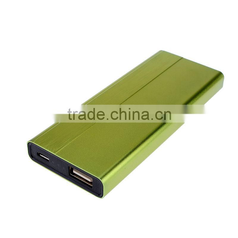 Fashionable type Li-polymer Ultra-thin 3000 mah power bank