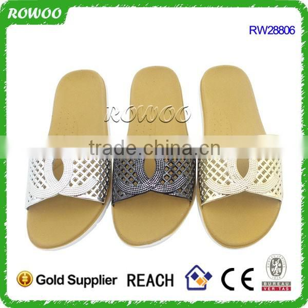 Comfortable summer shower eva slide bathroom slippers