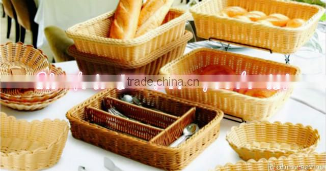 Hot sell colorful woven paper tray woven paper fruit basket peach basket