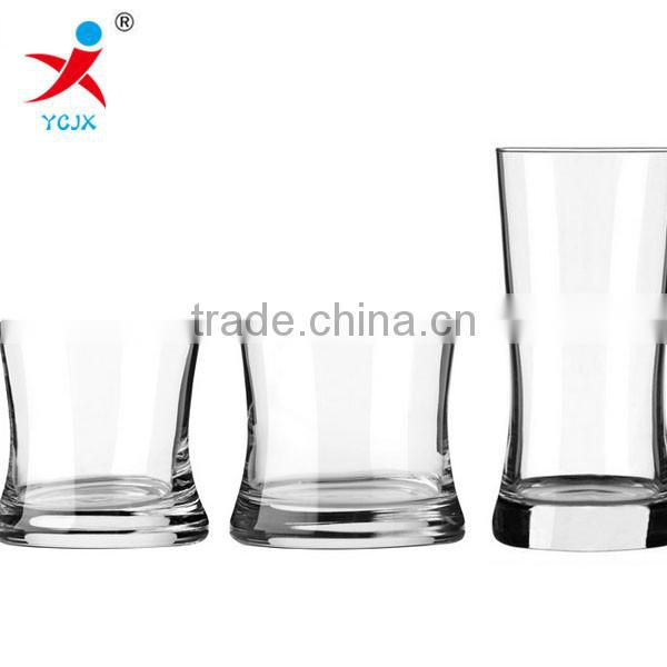 The glass/arc glass/transparent creative liquor cup/glass juice cup of whisky