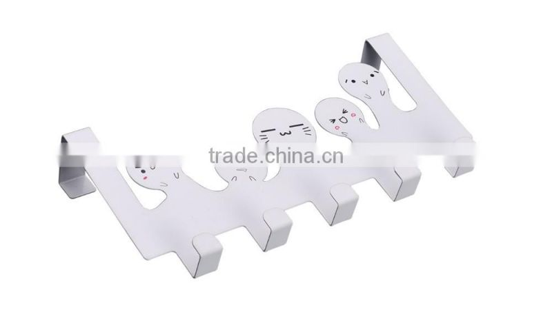 new family cartoon design metal hanger hook