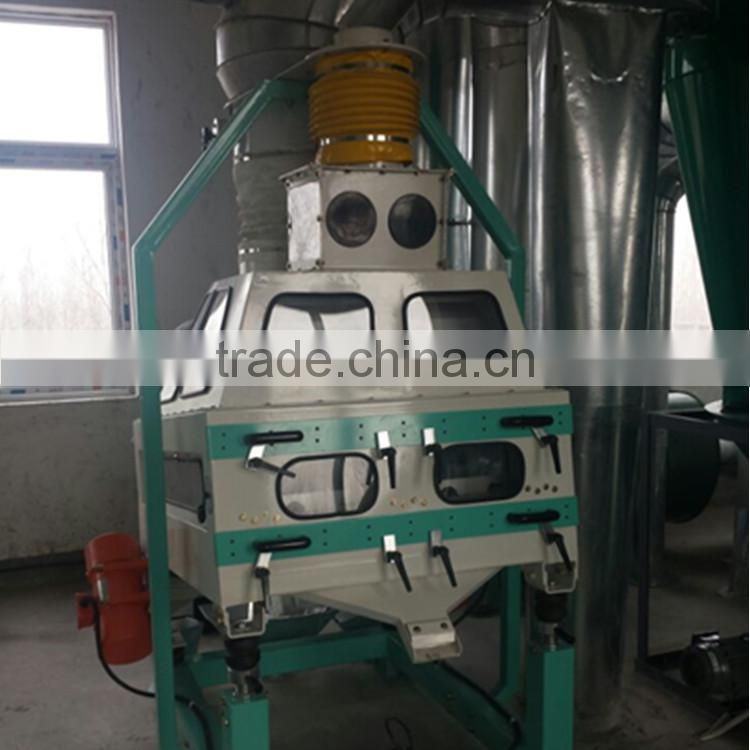 Grain cleaning machine TQSF series gravity destoner for grain processing
