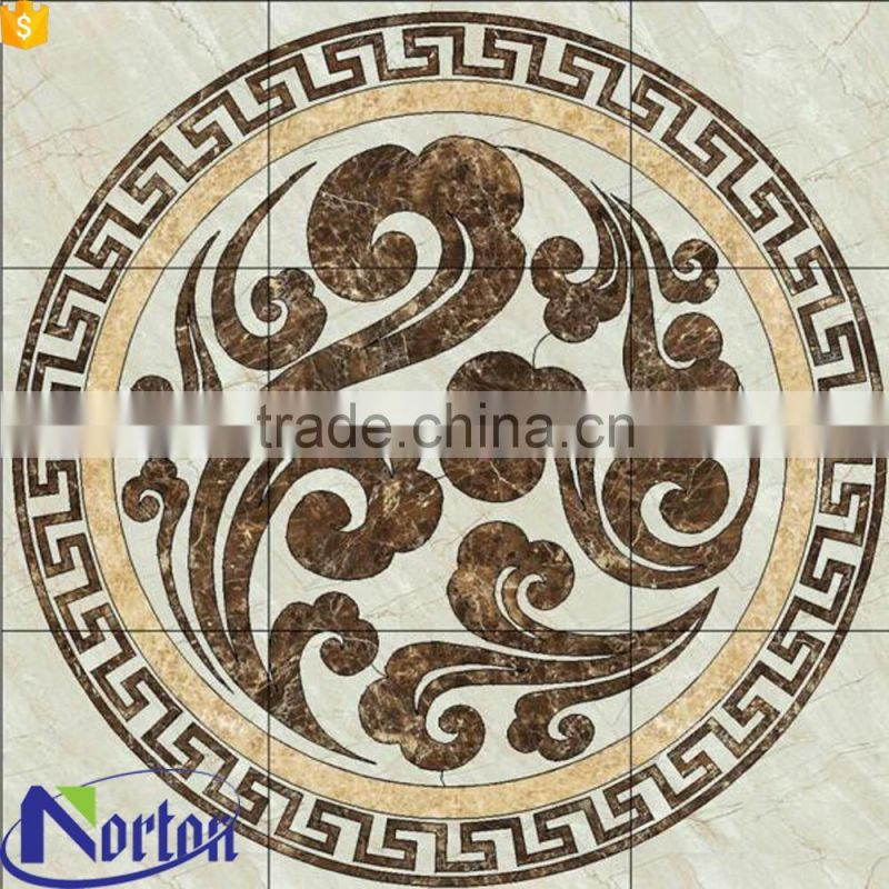 Home floor decorative marble waterjet medallion NTMS-MM009A