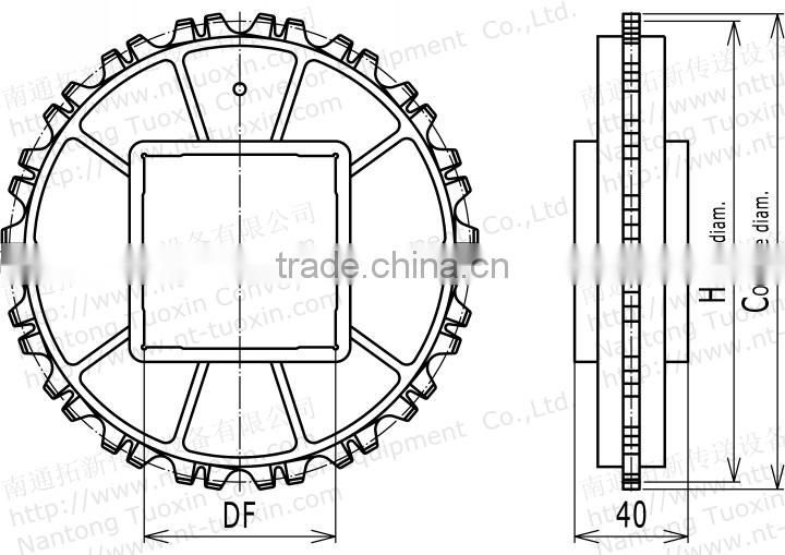 Injection Moulded 900 Classic Sprocket