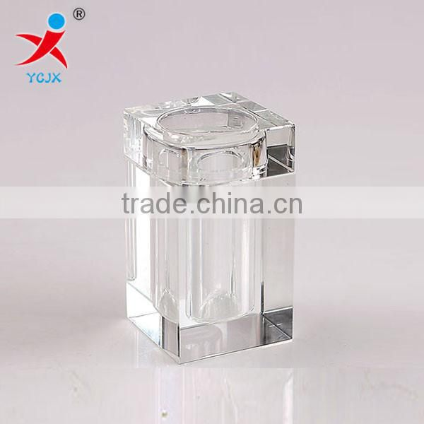 Transparent toothpick cassette cover/Transparent glass toothpick box/Swab box