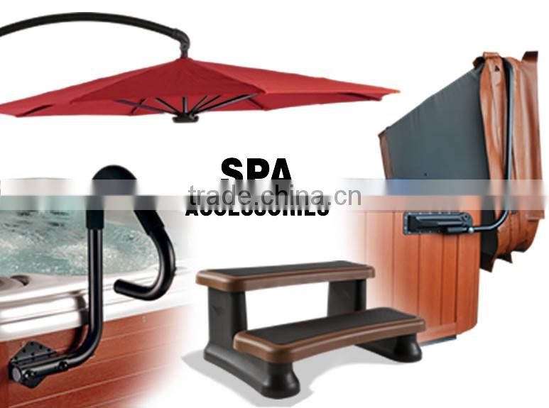CE approved freestanding acrylic outdoor balboa swim spa