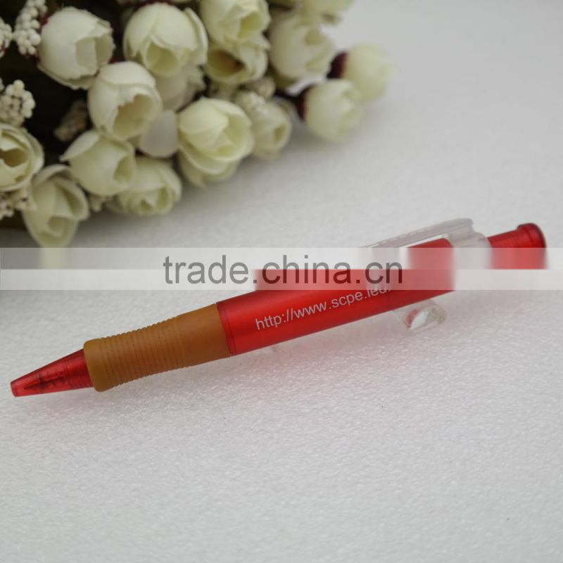 plastic ballpoint pen for advertisement and promotion