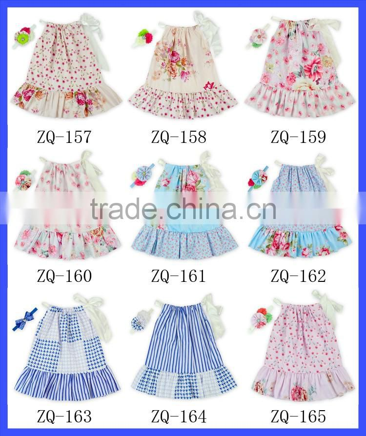 cute baby girls 18 inch doll clothes summer floral cotton candy dress for dolls