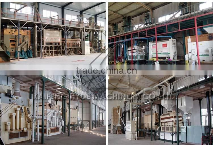 Grain seed cleaning machines for 10t wheat processing plant