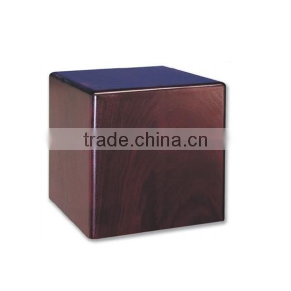 Custom High quality wholesale paulownia wooden funeral urns box