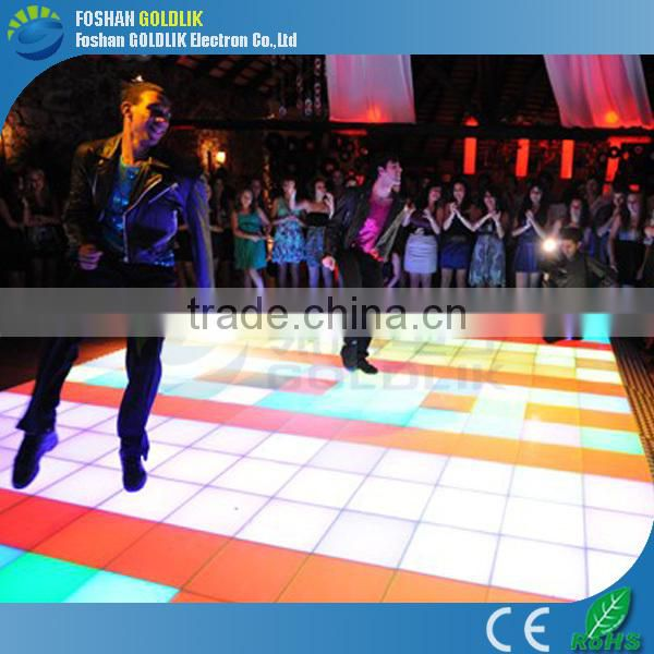 Dance Stage Lights Colorful Change LED Floor Tile Light