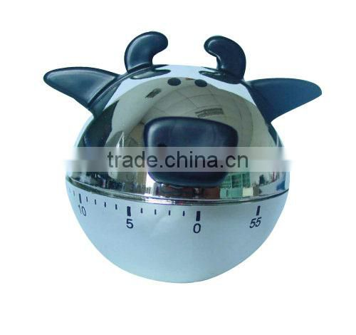 Cattle shape kitchen mechanical timer/cooking timer