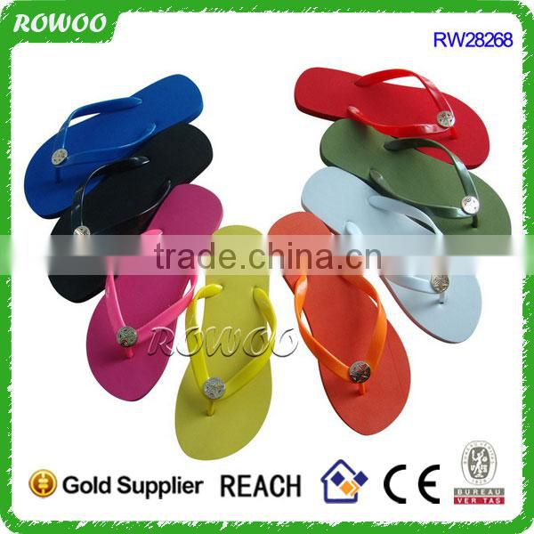 Comfortable Newest men Soft soles PVC flip flops