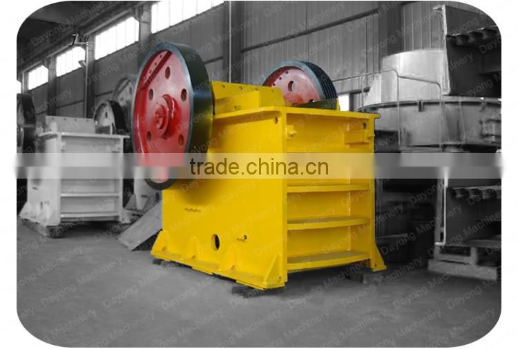Reliable quality metal jaw crusher plant