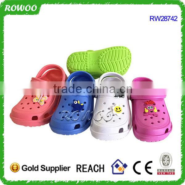 Fashion home use hot clogs design child slipper