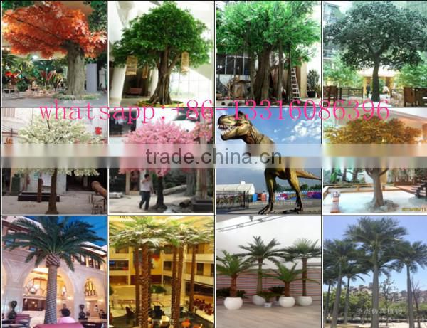 LXY082416 wholesale bonsai tree for garden decoration artificial ficus tree banyan bonsai