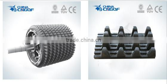 High Quality Double Roller Crusher Limestone Rock Roller Crusher Price