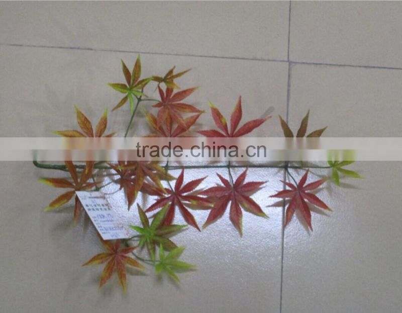 autumn maple leaves plastic maple leave for wholesale