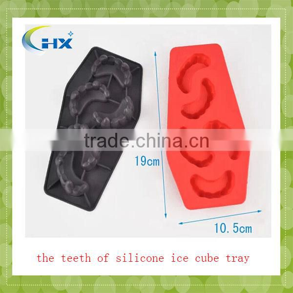 Hot Selling Plastic Silicone Ice Cube Tray