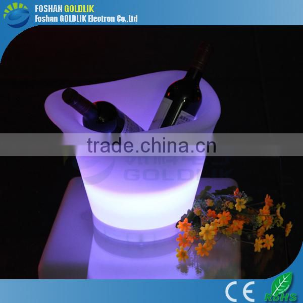 Plastic Material and Ice Buckets & Tongs Buckets, Coolers & Holders Type LED Illuminated Ice Bucket