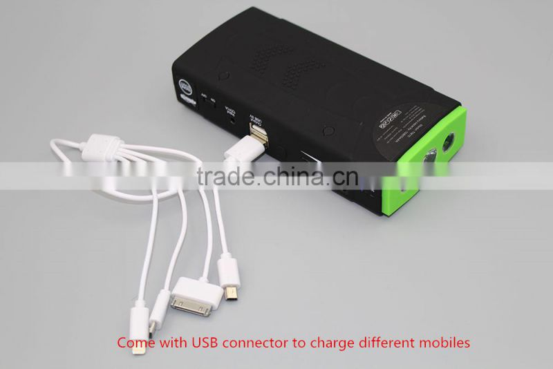 12000mAh Portable Power Multi-Function Emergent Car Jump Starter