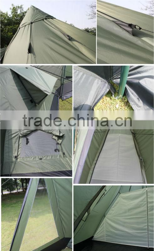 New camping car garage tents with tipi tents