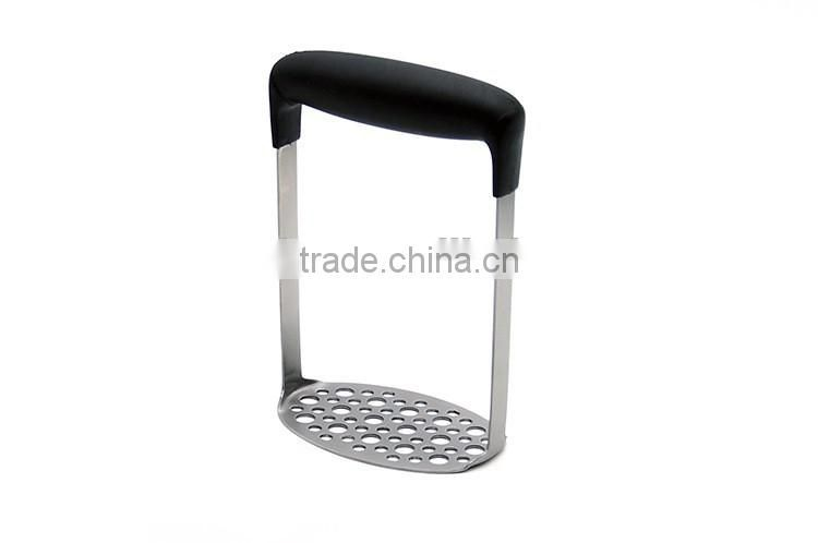 High Quality Stainless Steel Potato Masher Ergonomic Horizontal Handle