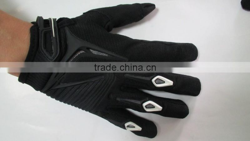 High quality full figure custom made motorcycle riding gloves