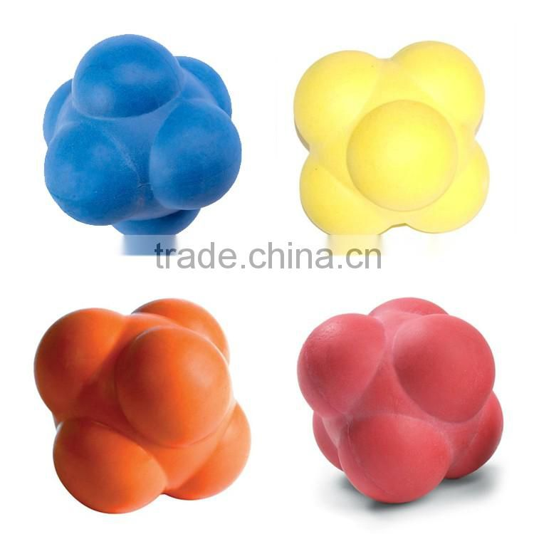 Colorful Fitness Silicone Reaction Training Balls