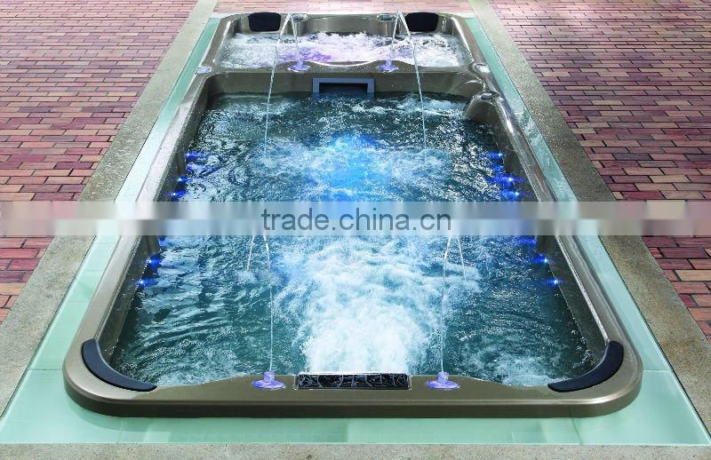 MEXDA Aristeach acrylic spa pool ,swimming spa pool, large outdoor spa pool WS-S06(CE,SAA,ETL,TUV,SUV,ISO)