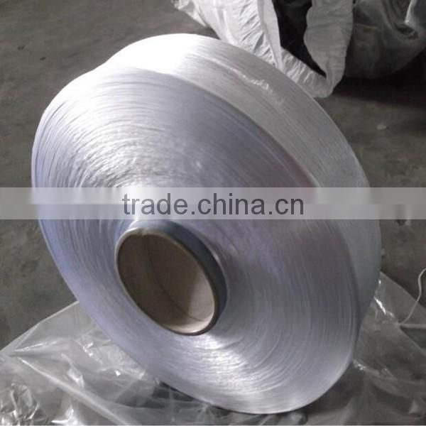 Hot sale FDY PP yarn 150D raw white for braid weaving in low price