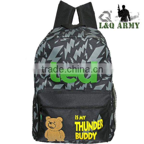 School Backpack Fashion Sublimation Backpack Bag for Kids
