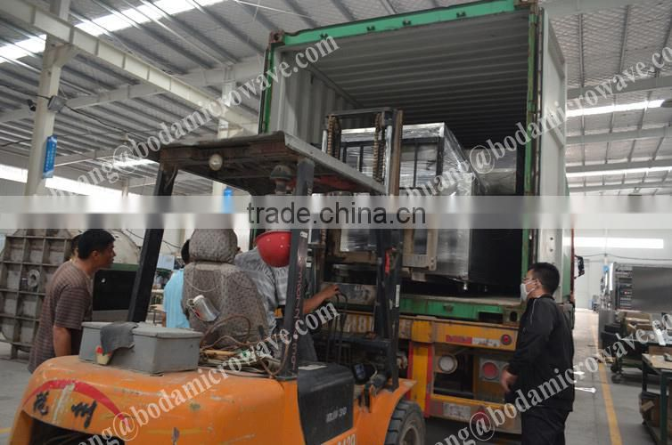 sic slurry microwave drying machine/ silicon carbide sludge microwave dryer