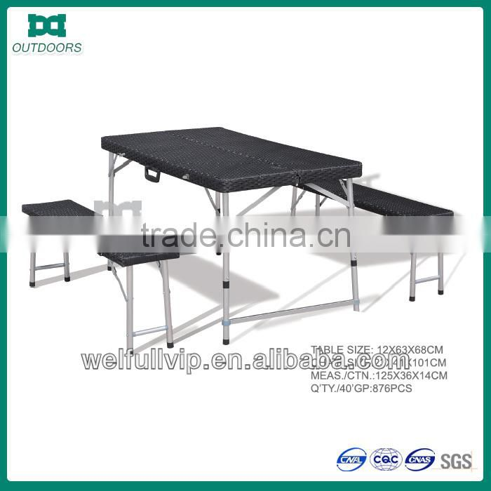 small folding camping table table and chair