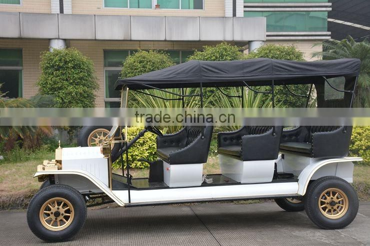 2017 Unique royal 8 passenger luxury antique model t 5KW electric car