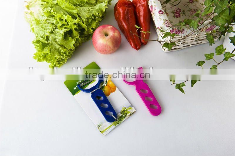 New Promotion Plastic Vegetable Peelers from china