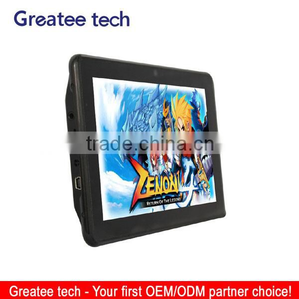 Capacitive 7 inch android car GPS navigator WIFI DVR Dual camera