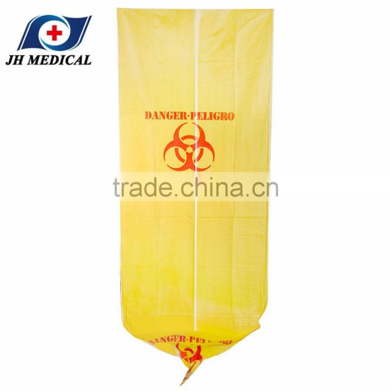 44 gallon yellow biohazard waste bag