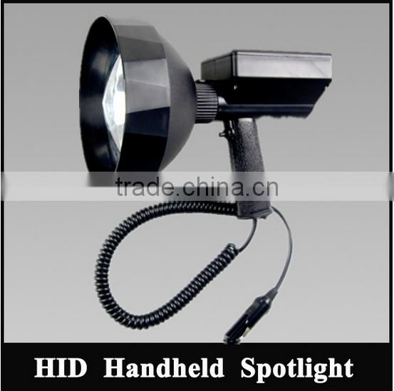 IP65 outdoor rechargeable searchlight rechargeable work light HID hunting light model