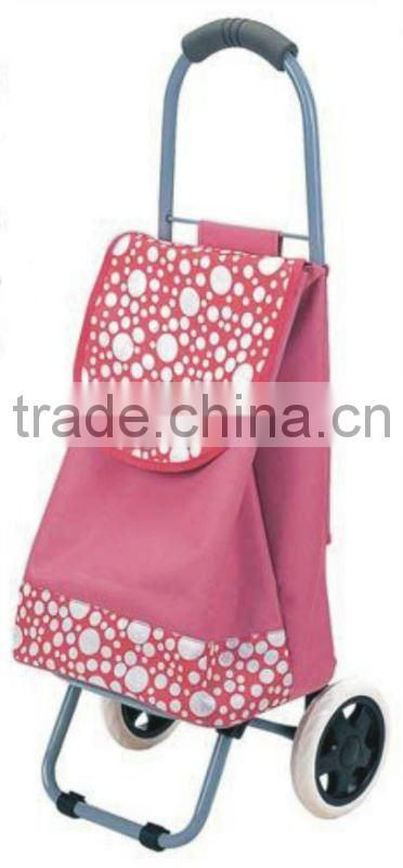 Two Wheel Bag And Foldable Shopping Cart And Trolley Shopping Bag