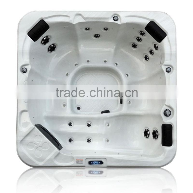 CE ISO Shenzhen Balboa Lucite Acrylic Shell Wholesale Massage Fiberglass Shell Indoor Portable Hot Tub