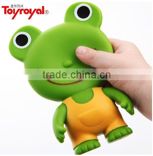 squeezable stress animal plastic toys,squeezable inflatable plastic toy,Soft PVC squeeze pvc plastic toys