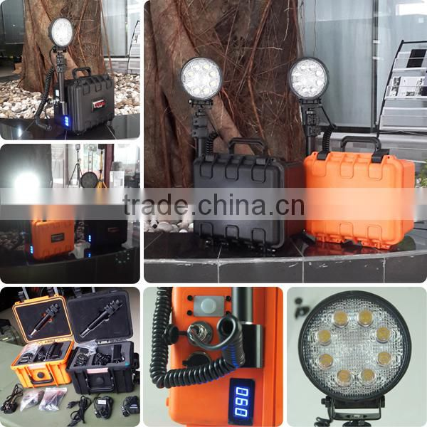 china supplier 24w waterproof rechargeable led raiway light , led emergency light from JGL