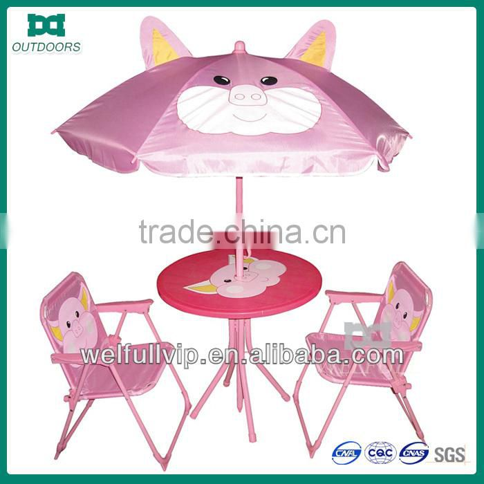 kids folding chair and beach umbrella pink childs chair