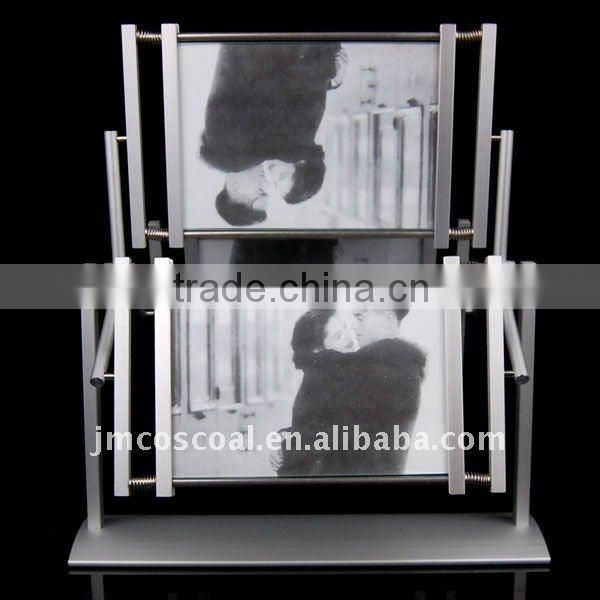 aluminium profile for photo frame and decoration support