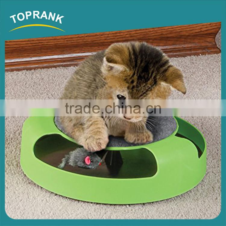 Professional cat toy small plastic cat activity center from pet toy pet products with great price