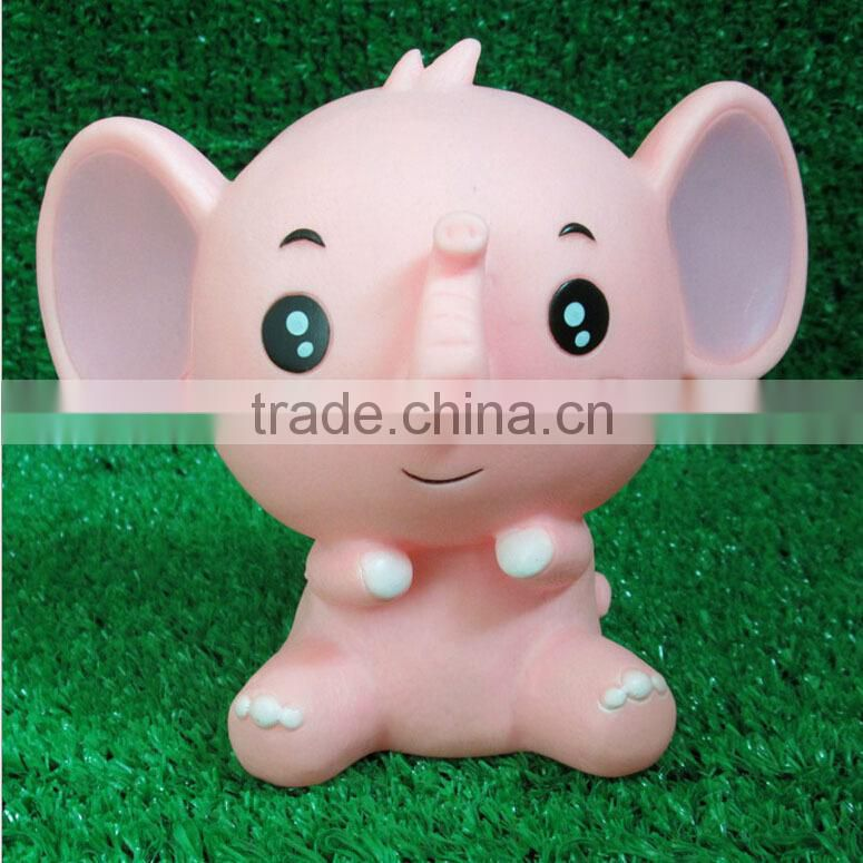 Plastic elephant piggy bank,Custom elephant plastic piggy bank,Small plastic piggy bank elephant