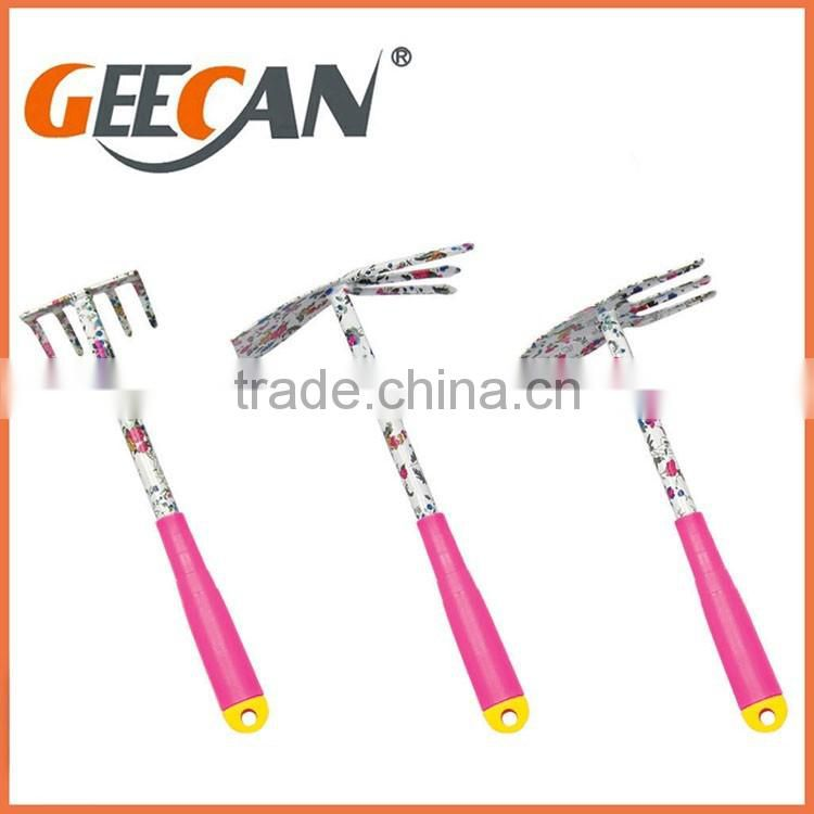 High quality various mini garden tool wholesale set with froral printing