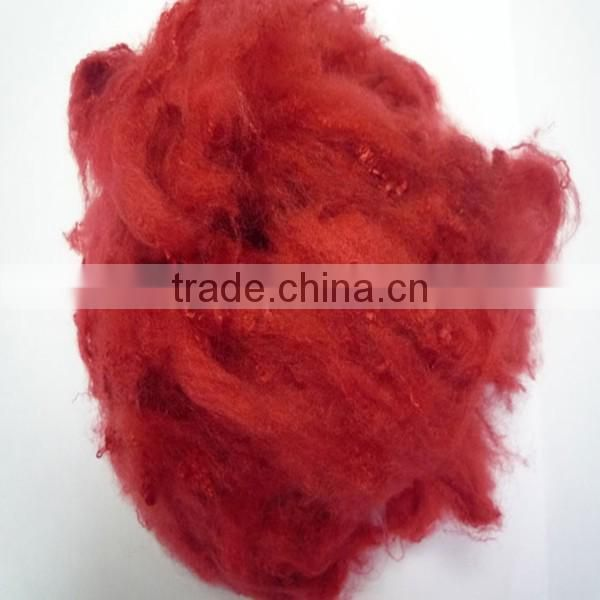 Virgin polyester fiber for filled raw white dyed color polyester fiber