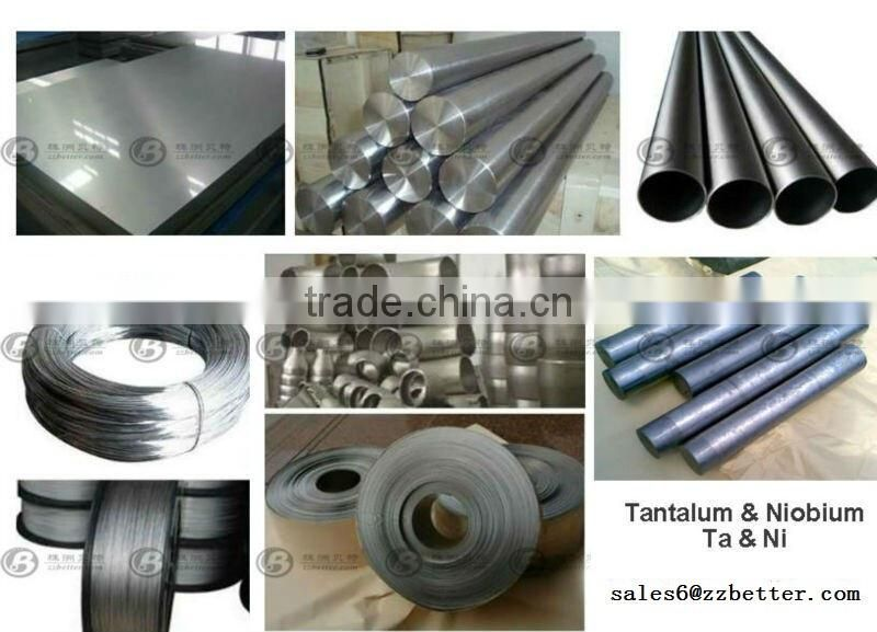 China manufacturer High purity niobium ingot